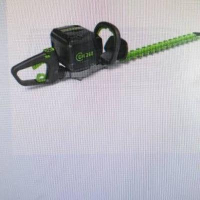 green works hedge trimmer 26in