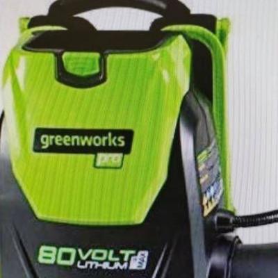 Greenworks Commercial 82v Backpack blower