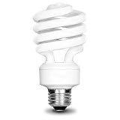 EcoSmart 75W Equivalent Daylight 5000K Spiral CFL ...