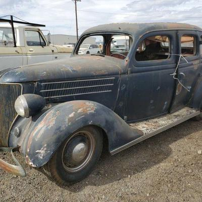 1936 Ford 1936 Ford VIN: 2569I53  DMV fees: $37 and $70 doc fees