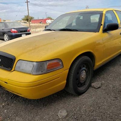 2008 Ford Crown Victoria Year: 2008 Make: Ford Model: Crown Victoria Vehicle Type: Passenger Car Mileage: {ENTER MILEAGE HERE} Plate:...
