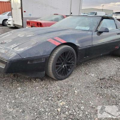 43:1984 Chevrolet Corvette Year: 1984 Make: Chevrolet Model: Corvette Vehicle Type: Passenger Car Mileage: {ENTER MILEAGE HERE} Plate:...