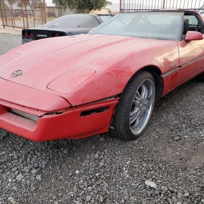 1988 Chevrolet Corvette Year: 1988 Make: Chevrolet Model: Corvette Vehicle Type: Passenger Car Mileage: {ENTER MILEAGE HERE} Plate:...