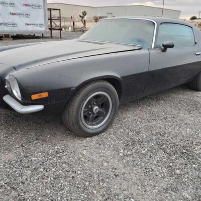 1971 Chevrolet Z28 Camaro 124871L509070  DMV fees: $367 and $70 doc fees
