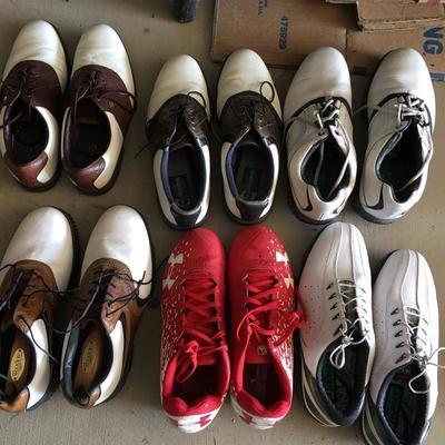 Golf shoes. Men's sizes 9 1/2 - 10 1/2