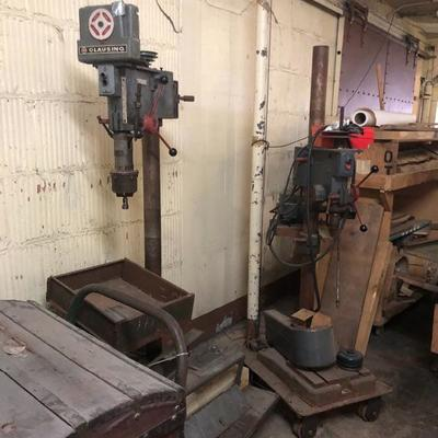 2 Clausing Drill Presses