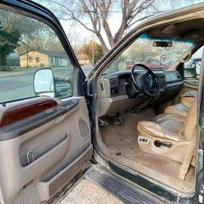 2002 Ford F250 SUPER DUTY V8 Power Stroke Diesel 4......