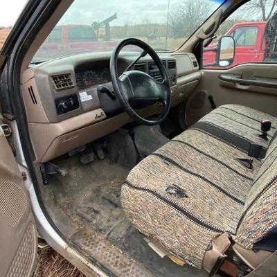1999 Ford F350 Super Duty Bucket Truck V10 Tritons