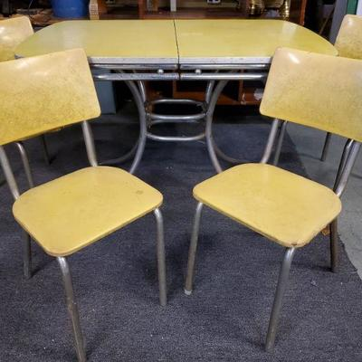 Vtg Table and Chairs