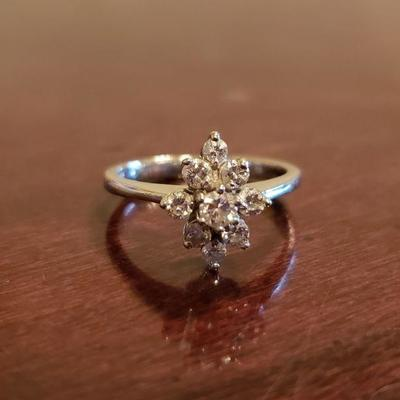 14kt GF Diamond Ring