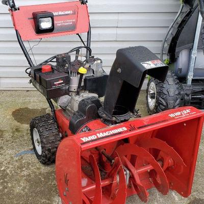MTD 24 Inch Snowblower