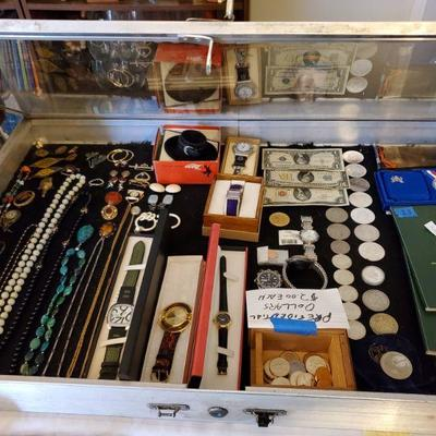 Coins, watches and costume jewelry in the Dec. 6 and 8 Fair Lawn sale