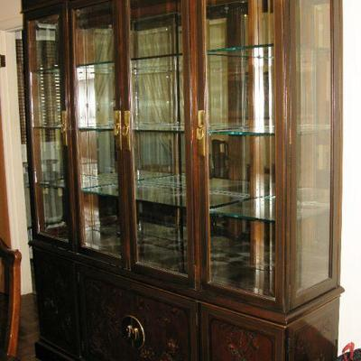 Drexel Heritage Asian look china cabinet   BUY IT NOW $ 1,195.00