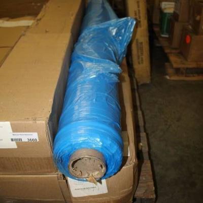 POR Gusseted Bags 52 x 42 x 36 .5 Mil - Blue