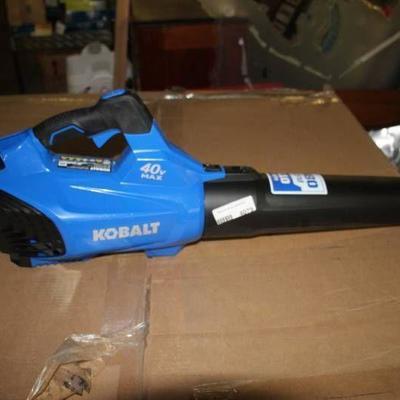 Kobalt Cordless Blower