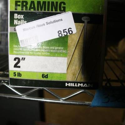 5 lbs of 2 inch 6d Framing Nails