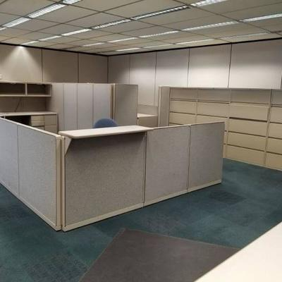 Build an Office Steelcase Cubicles, Offic......