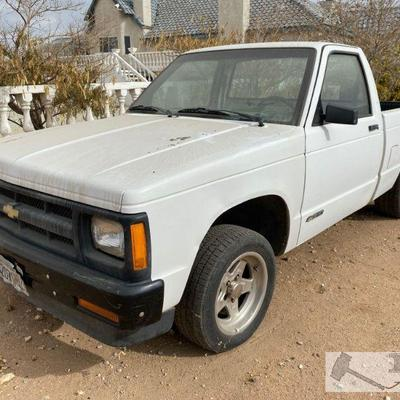 91-1991 Chevrolet S10 Year: 1991 Make: Chevrolet Model: S10