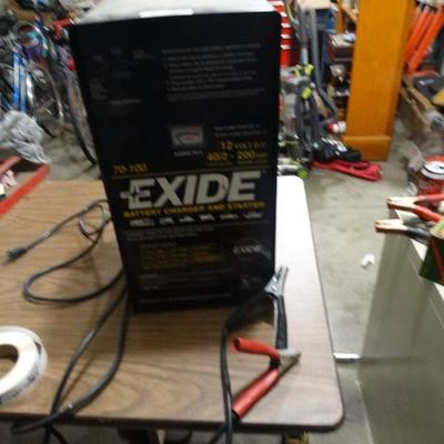 EXIDE Battery Charger and Starter