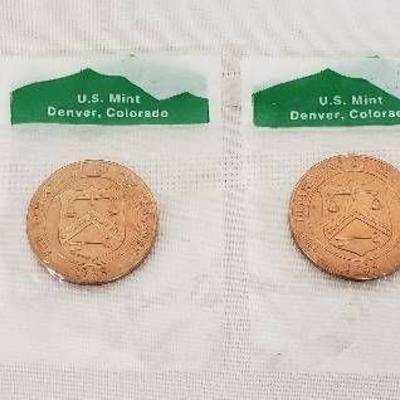 Lot of 4 US Mint Medallions - 3 Denver 1Old San Fr ...