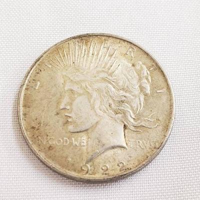 1922 P - Peace Dollar