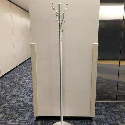 Brushed Chrome Coat Tree