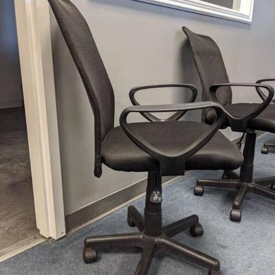 (2) Rolling Office Chairs.