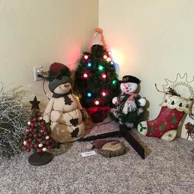 Our Christmas Tree and Snowman Collection