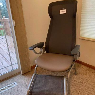 Nemschoff Patient Chair with Ottoman