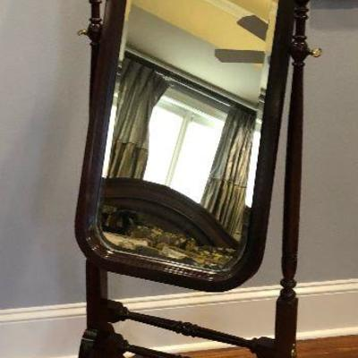 https://www.ebay.com/itm/123998514393  BG0008: Framed Wooden Mirror on Stand $125 OBO Local PIckup