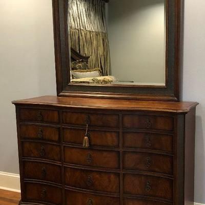 https://www.ebay.com/itm/114000148669  BG0006: Modern Tiger Oak Dresser with Mirror / Chest of Drawers $499 Local Pickup