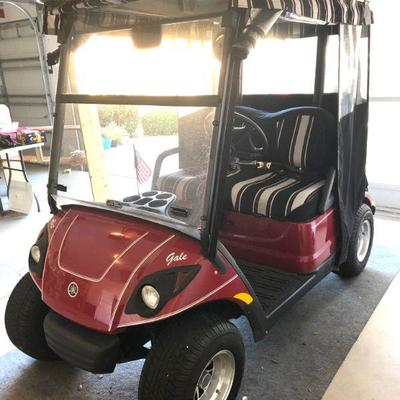 Immaculate 2008 Yamaha 2-Seater Gas Golf Cart - $4250