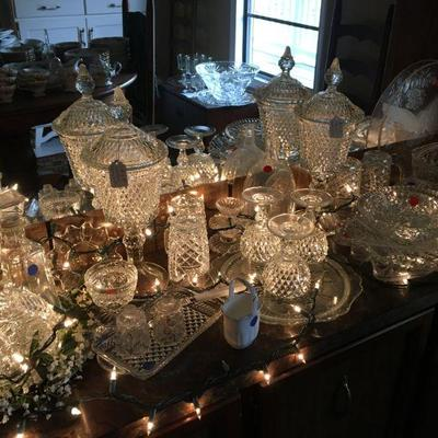 CRYSTAL GLASSWARE, WEXFORD