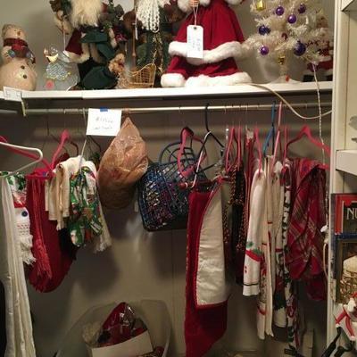 A CLOSET FULL OF CHRISTMAS