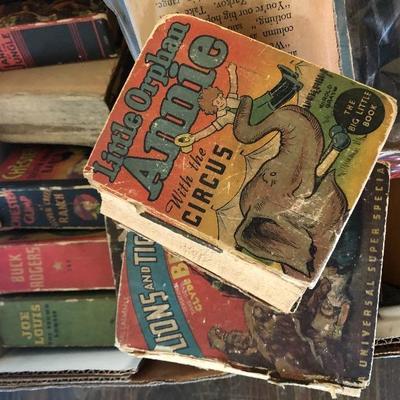 Vintage Little Orphan Annie books