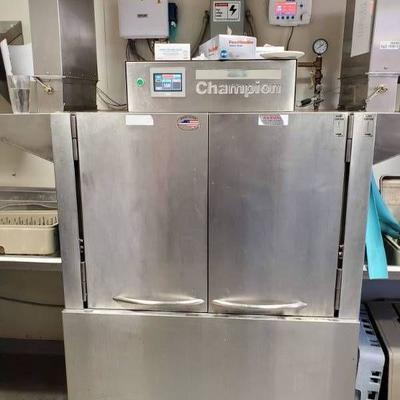 #Champion 44 Pro Conveyor Dishwasher 240V 3-phase F