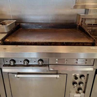 Southbend Flat Top Grill Oven Range Fully Function ...