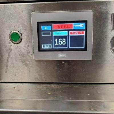 Champion 44 Pro Conveyor Dishwasher 240V 3-phase F.