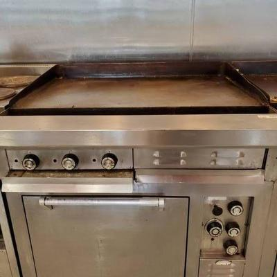Southbend Flat Top Grill Oven Range Fully Functions