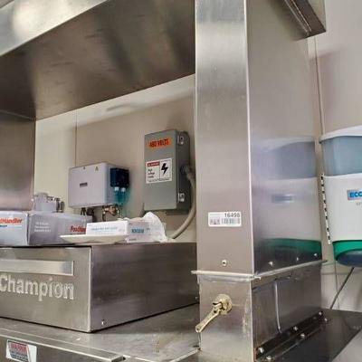 Champion 44 Pro Conveyor Dishwasher 240V 3-phase F,.