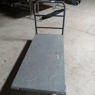 Excellent warehouse stock cart w metal handle- He ...