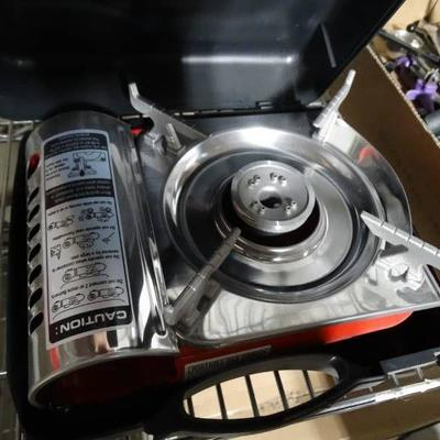 Mini Ninja portable gas cooker in case