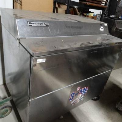 Beverage-Air commercial s s cooler & or Freezer on ...