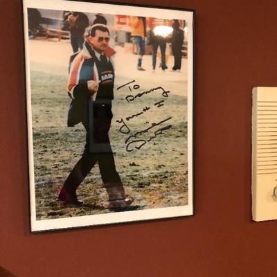 Mike Ditka signed picture