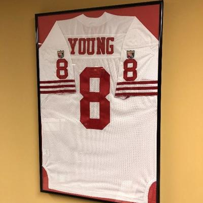 Young #8 Jersey