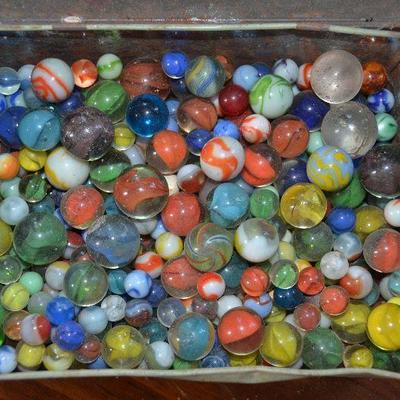 Rare Scarce Early Antique Marbles Marble