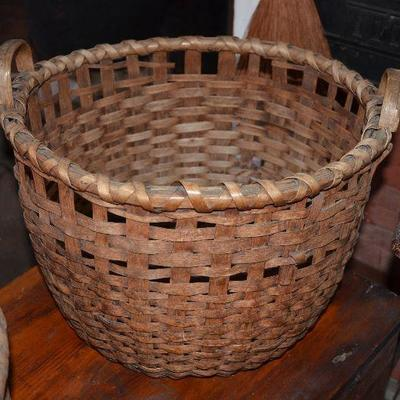 Many Antique Baskets