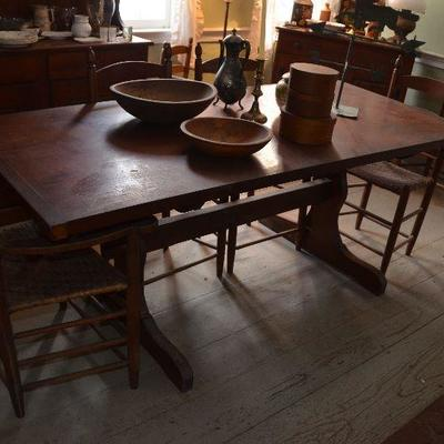 Very Early Dinning Table