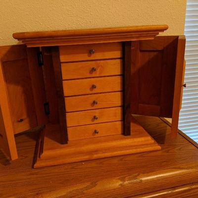 LB-108 Hand-crafted jewelry armoire $55