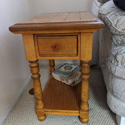 LB-114 Solid wood end table  $45